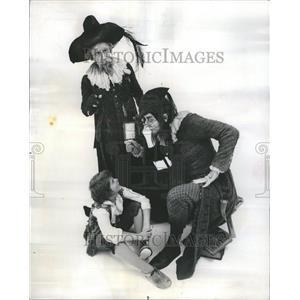 1974 Press Photo Shakespeare Love's Labor's Lost comedy
