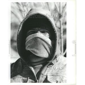 1981 Press Photo Weather Crobert Lett Garfield Hazel Yo