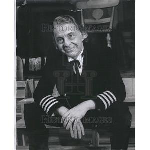 1966 Press Photo David Wayne Actor