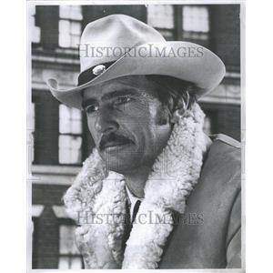 1970 Press Photo William Dennis Weaver American actor