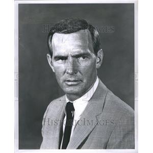 1966 Press Photo William Dennis Weaver Bob Actor