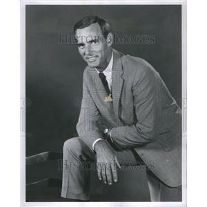 1966 Press Photo Dannis Weaver American Actor Missouri
