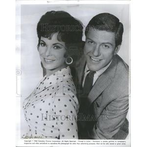 1963 Press Photo Van Dyke Films Bye Birdie Mary Poppins