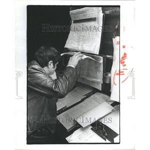 1982 Press Photo Gary Riester Pilot Thermwood - RRR52477