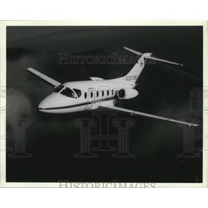 1987 Press Photo Airplane Beechcraft Beechjet - spa33080