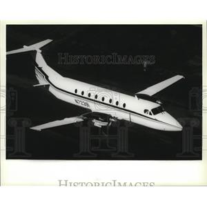 1987 Press Photo Airplane Beechcraft Beech 1900 Exec-Liner - spa33084