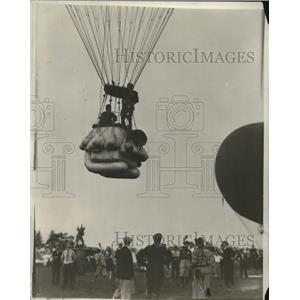 """1930 Press Photo Ballooning Event Entry """"City of Cleveland"""" - nez24467"""