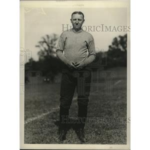 1927 Press Photo Coach Don Andreas of Syracuse University - nes51608