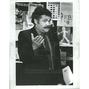 1971 Press Photo Television Actor