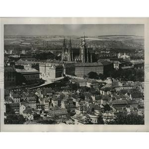 1938 Press Photo Prague, Czechoslovakia - nez24931