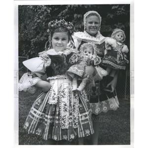 1970 Press Photo Moravian Festival