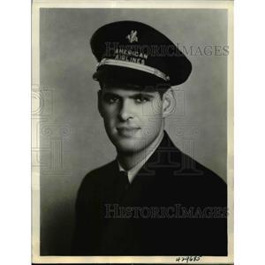 1937 Press Photo Robert E. Griffin U.S. Army Air Corps - nef15445