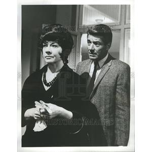 1963 Press Photo Efrem Zimbalist, Jr Jo Van FleetEfrem - RRR55589