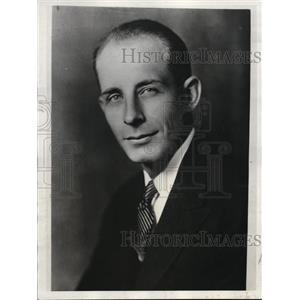 1932 Press Photo Pilot Hal George, Killed in Ohio Plane Crash - nef16340