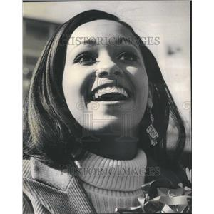1967 Press Photo Northwestern Homecoming Queen