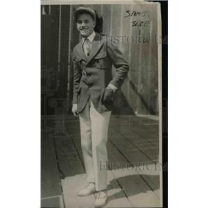 1923 Press Photo Eddie Pinkham professional baseball player - net24040