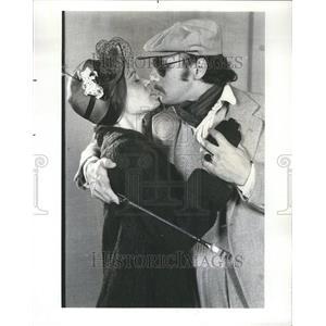 1976 Press Photo Switch Bitch Franz Purdy Gordon Lerner