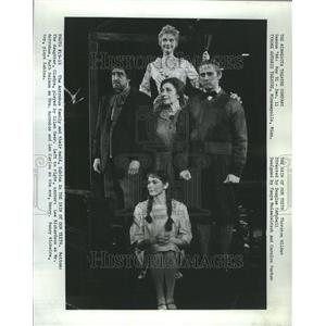 1966 Press Photo Skin Of Our Teeth Guthrie Theater