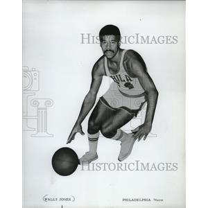 1972 Press Photo Wally Jones - Philadelphia 76ers - mjs03642