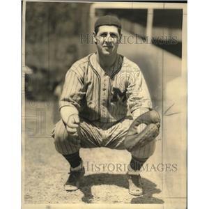 1934 Press Photo Russ Young, Milwaukee Brewer Veteran - mjs03724