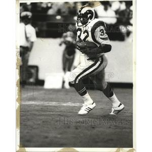 1982 Press Photo Los Angeles Rams running back Cullen Bryant - nes52210