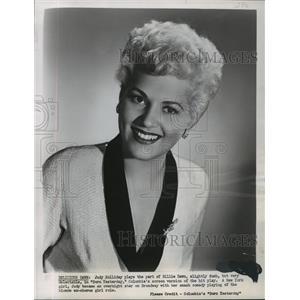 1951 Press Photo Judy Holliday stars in Born Yesterday. - mjx13832