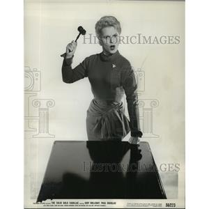1956 Press Photo Judy Holliday stars in The Solid Gold Cadillac. - mjx13837