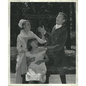 "1966 Press Photo Scene from ""The Devil's Disciple"" - RRR58631"