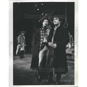 1976 Press Photo Devils Disciple Shaw Goodman Theatre