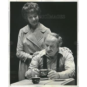 1972 Press Photo Jack Warden in Death of a Salesman
