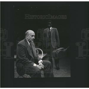 1975 Press Photo George C. Scott Chuck Patterson Play