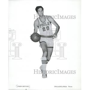 1970 Press Photo Fred Hetzel- Philadelphia 76ers - mjs03920