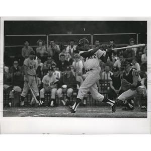 1968 Press Photo Felix Mantilla,making his debut with the Ed Raatz team