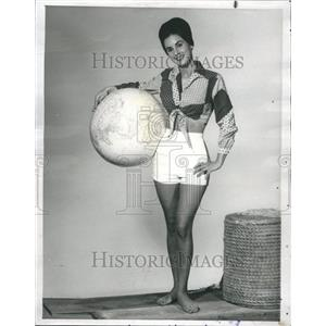 1963 Press Photo Carol Grace American Actress Author