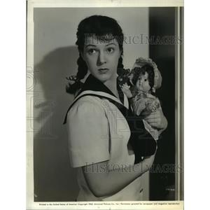 1942 Press Photo Diana Barrymore stars in Between Us Girls. - mjx16408