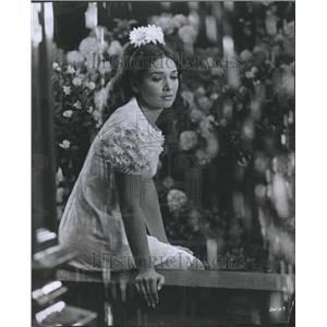 1969 Press Photo Suzanne Pleshette Television Actor