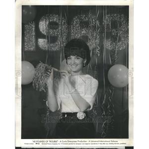 1962 Press Photo Suzanne Pleshette American Actress