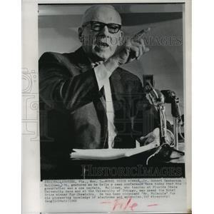 1966 Press Photo Doctor Robert Sanderson Mulliken Named Nobel Price Winner
