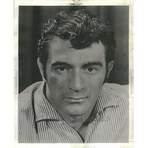 1962 Press Photo Gary Dinner Play House Star smorgasbor