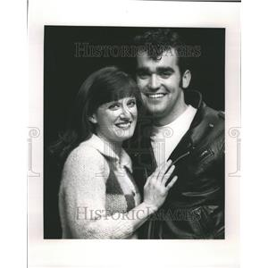 Press Photo McGhee and James in Grease