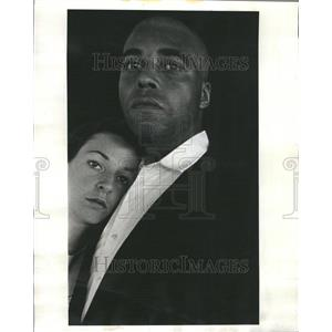 1967 Press Photo Jones and Alexander Great White Hope