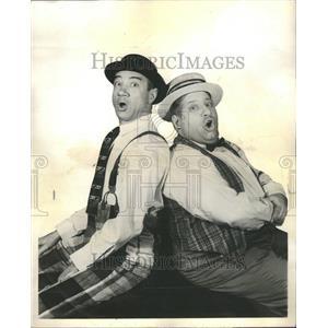 1961 Press Photo Skedge Miller and Enserro Fantastics
