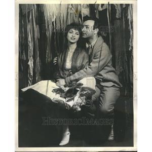 1961 Press Photo Mimi Turque and Tom Ayre Fantasticks