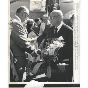 1976 Press Photo Urho Kekkonen