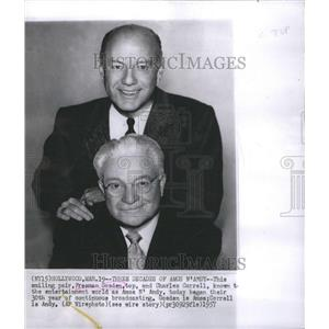 1957 Freeman Gosden And Charles Correll Press Photo - RRR65321