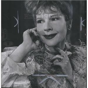 1957 Press Photo Ruth Gordon Actress