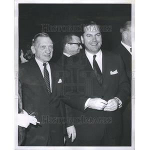 1966 Press Photo Ray Girardin and Mayor Jerome Cavanagh