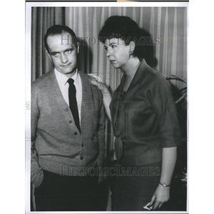 1963 Press Photo Newhart Withers Get Rid Your Wife