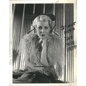 "1935 Press Photo Muriel Evans ""Have a Heart"" - RRR68289"