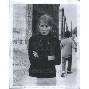 1969 Press Photo Joanna Shimkus Canadian Actress
